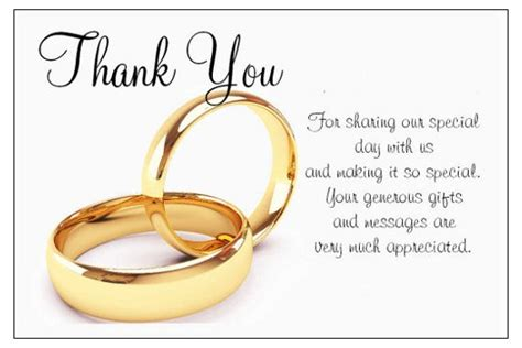 thank you letter marriage gift show gratitude to your loved ones with thank you cards