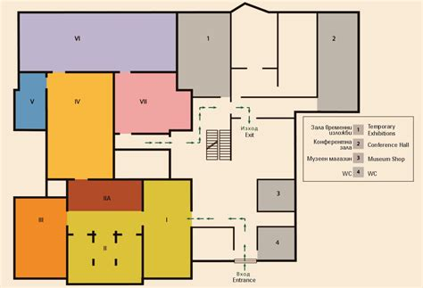 plan com archaeological museum museum plan