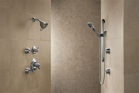 Bathroom Showers Faucet 50560 Ss In Brilliance Stainless By Delta