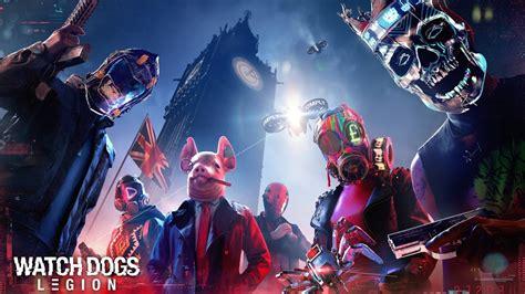 dogs legion characters mask london big ben   wallpaper