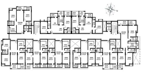 Home Design For Extended Family Multi Family Compound House Plans Family Compound Floor