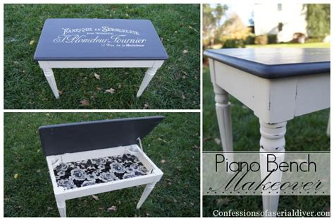 diy piano bench plans piano bench makeover confessions of a serial do it