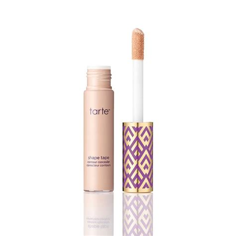 tarte shape tape concealer in light neutral concealers that cover up anything tips tutorials