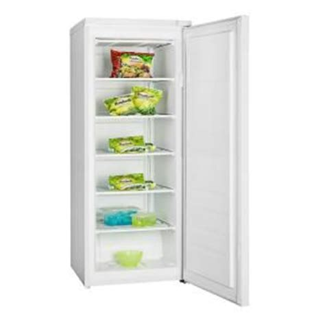 igloo 6 9 cu ft upright freezer in white frf690 at the
