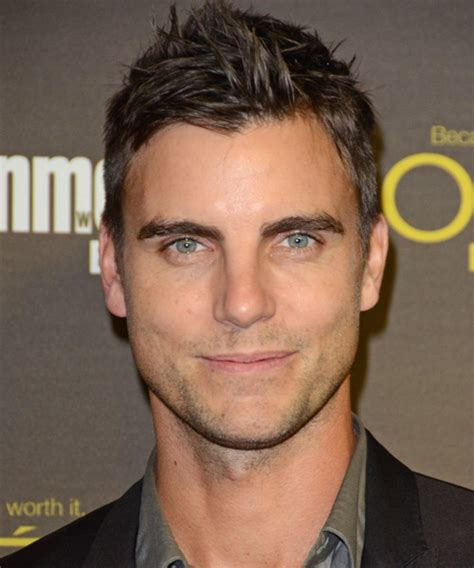 Colin Egglesfield Short Straight Casual Hairstyle   Medium