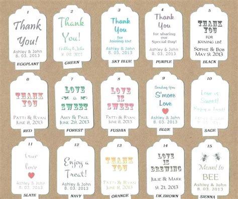 free printable gift tags for wedding favors free printable gift tags personalized salmaun me