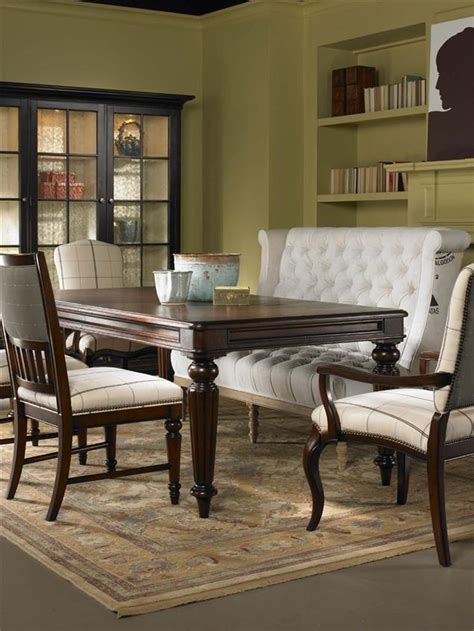 dining room tables with benches and chairs dining table with upholstered bench google search maybe