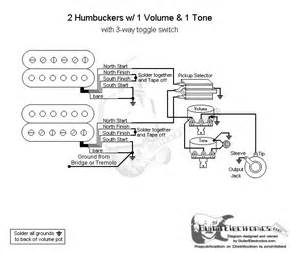 wiring diagram  gibson humbuckers    toggle switch