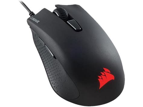 corsair gaming harpoon rgb gaming mouse backlit rgb led 6000 dpi optical newegg