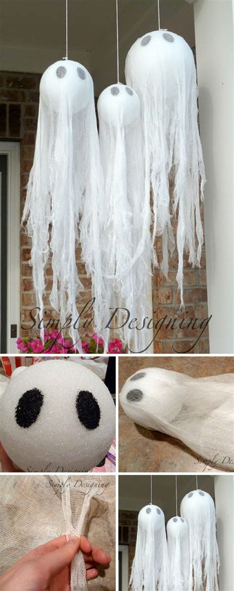 easy halloween decorations to make at home 15 best ideas about homemade halloween decorations on