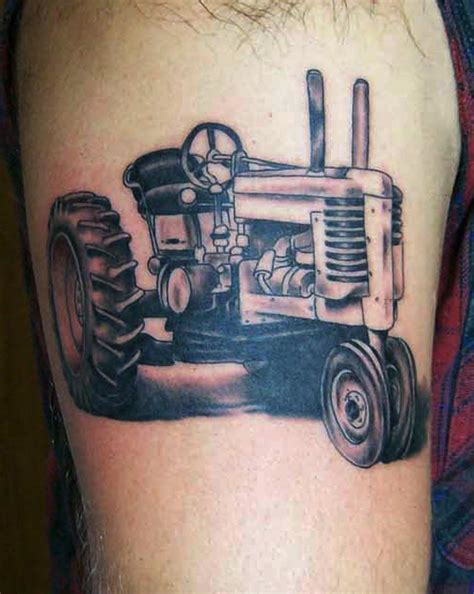 tractor tattoos tractor by gaudette at crimson designs
