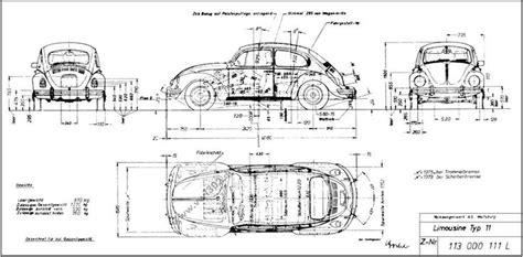 cox plans dessin industriel vw cox others vw pinterest volkswagen
