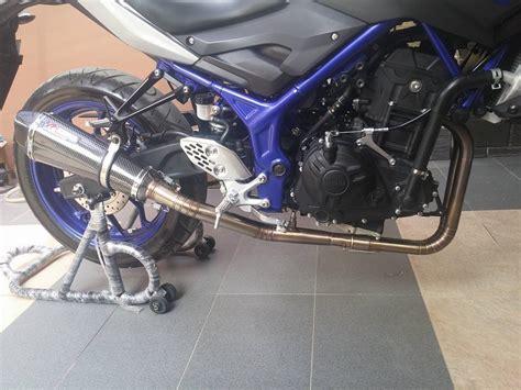 Knalpot Racing Yamaha R15 Dbs harga galeri knalpot auto design tech