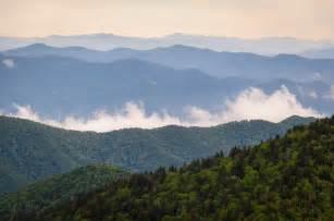 Taken from one of the smoky mountain day hikes with mountain views