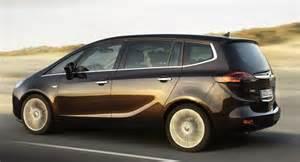 Opel Zafira 7 Seater Review All New 2012 Opel Zafira 7 Seater Minivan Breaks Cover