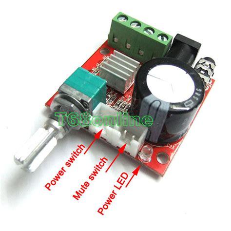 Pam8610 10w Stereo Audio Lifier Module mini digital audio lifier 10w 10w 2 channel diy module class d hifi 2 0 ebay