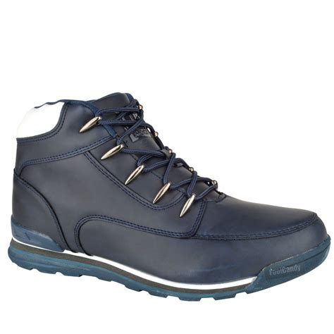 Comfort Boots by Mens Boys Casual Lace Up Comfort Hiking Walking Work Ankle