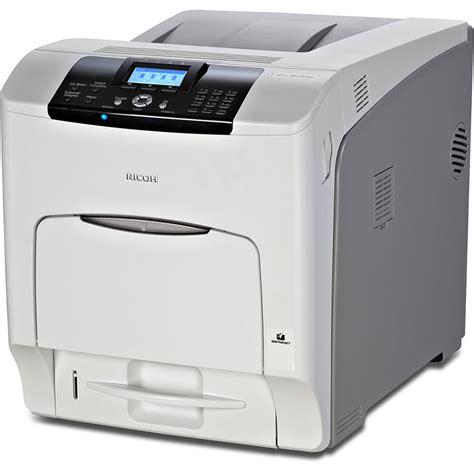 best ricoh ricoh aficio sp c431dn network color laser printer 406658 b h
