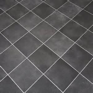 Anti Slip Vinyl Flooring Bathroom - dark grey tiles non slip vinyl flooring lino kitchen bathroom ebay