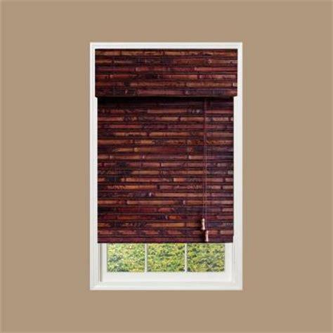 designview mahogany nepal bamboo shade 35 in w x