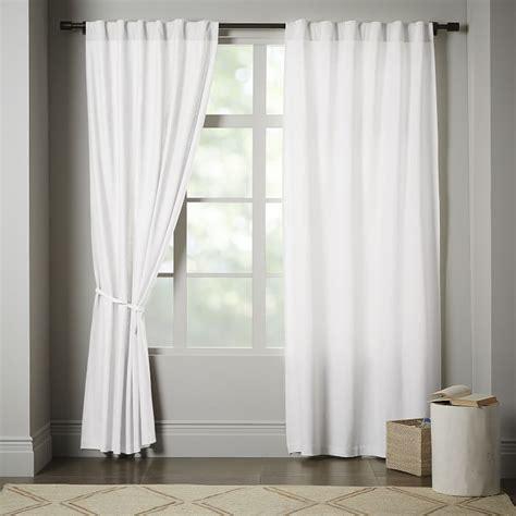 White Cotton Valance Curtains White Cotton Tab Curtains Curtain Menzilperde Net