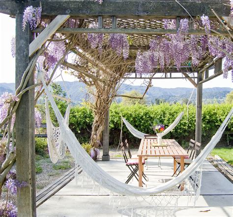 hammock for patio 20 hammock quot hang out quot ideas for your backyard garden club