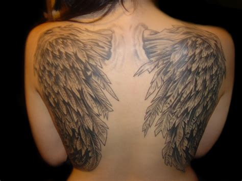 tattoo of angel wings entertainment portal for all wing tattoos