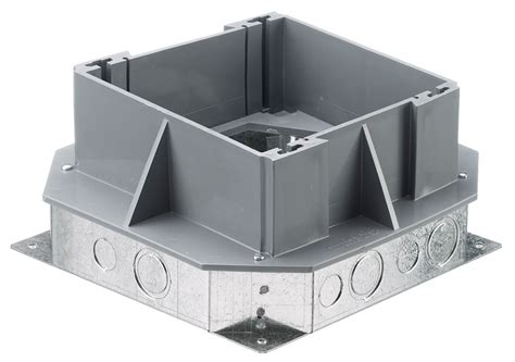 Hubbell Floor Box by Hubbell Lcfbssa Steel Floor Box Crescent Electric Supply