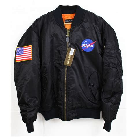 bomber jacket nasa ma 1 flight bomber jacket new ebay