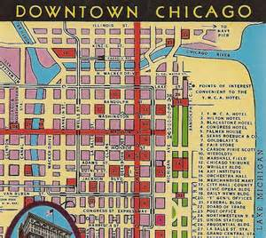 Map Of Downtown Chicago Hotels by Downtown Chicago Map Hotel Name And Train Pictures To Pin