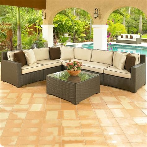 small outdoor couch outdoor patio furniture sectional small outdoor sectional