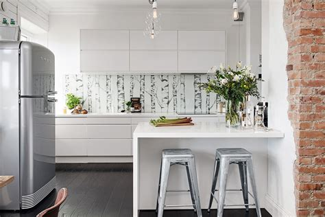 nordic kitchen nordic apartment enhanced by its eclectic decor