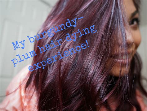 burgandypurple 2015 hair my burgundy plum hair dye experience youtube