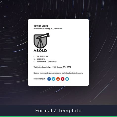 Email Signature Templates Easy To Create And Install Apple Mail Email Signature Templates