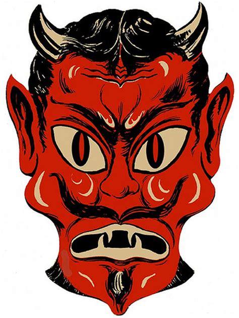 printable devil mask john rozum com 31 days of halloween day 5 mask of the day