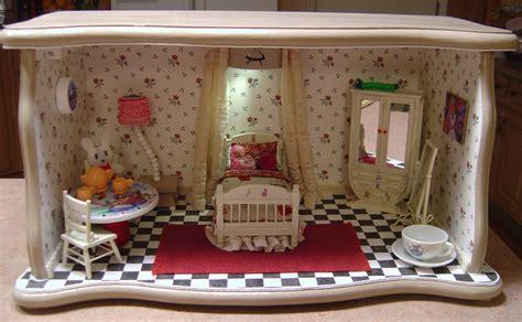 dollhouse room box in bedroom room box dollhouse miniature theme