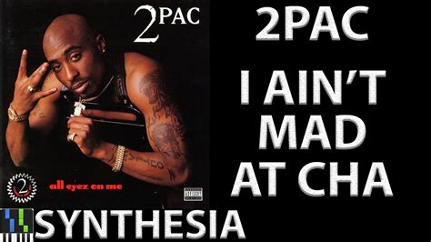 I Aint Mad At Cha Meme - 2pac i ain t mad at cha piano youtube