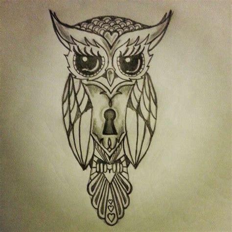 owl tattoo drawing hawaiian owl drawing search tattoos