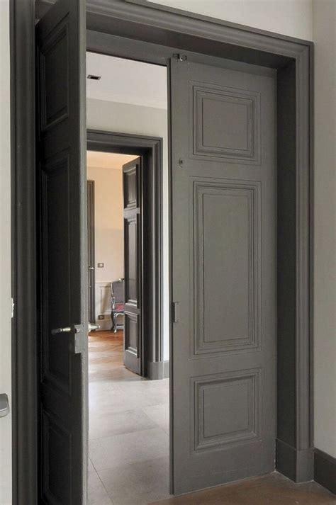 dark internal doors    frames   colour