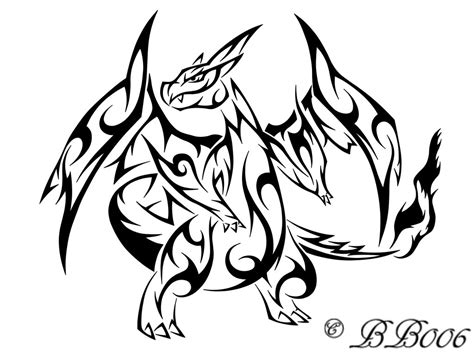 tribal pokemon tattoos lucario and charizard on deviantart