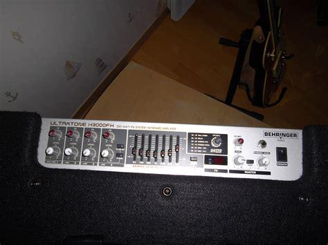 Lifier Keyboard Behringer K3000fx K 3000 Fx K 3000 Fx behringer ultratone k3000fx image 476080 audiofanzine