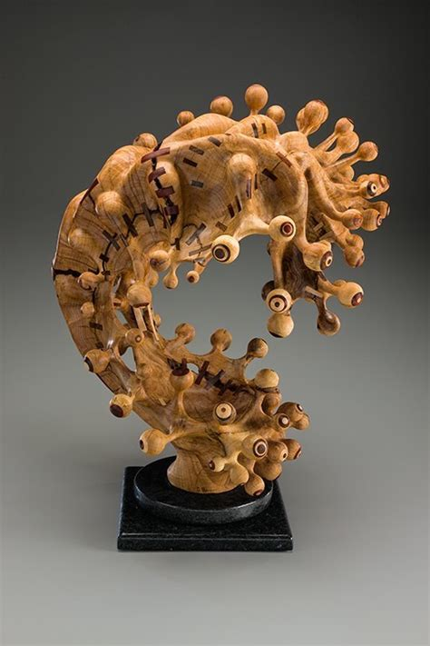 tim byrns revitalized wood sculptures american craft