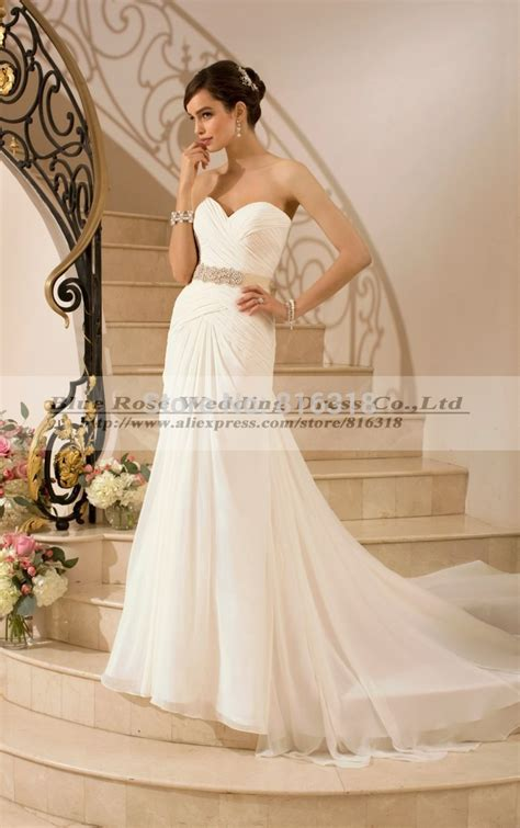 aliexpress buy vestido de noiva 2016 chiffon boho