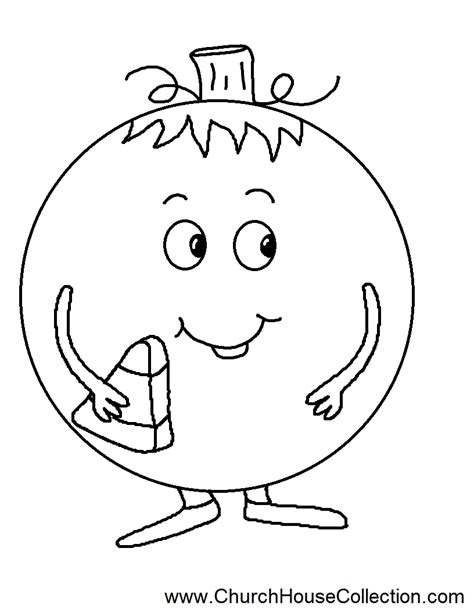 pumpkin coloring pages for church church house collection blog pumpkin eating a candy corn