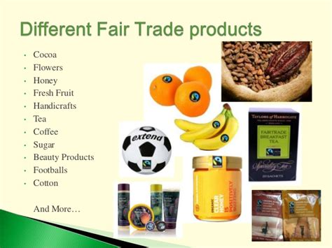 trading products fair trade powerpoint