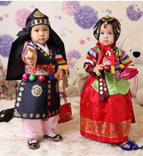 Dress Korea Original 48 adopt a korean baby are wearing hanboks traditional clothing south korea