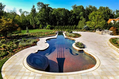 swimming pool landscape design custom swimming pool by cipriano landscape design beyond