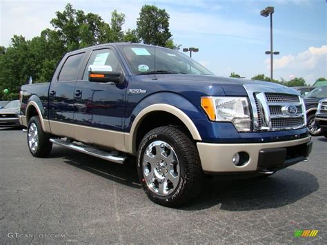 2009 Ford F150 by 2009 Blue Pearl Metallic Ford F150 Lariat Supercrew