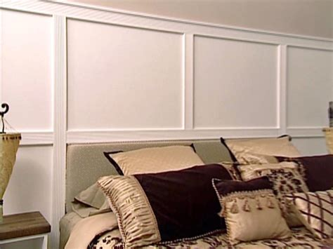wall molding wall paneling with fluted molding hgtv