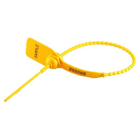 35cm griptight seal standard numbered yellow 1000pcs